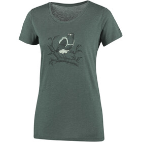 Columbia Birdy Buddy t-shirt Dames olijf